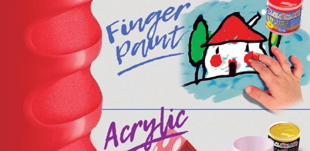 pintura dedos pintura acrílica