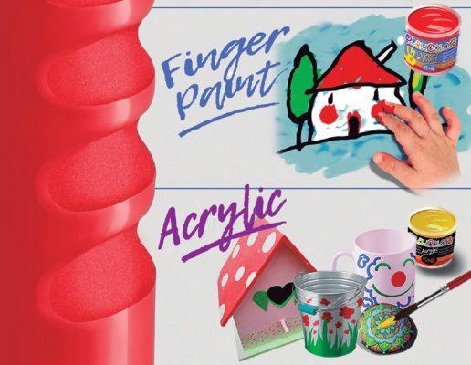 pintura de dedos pintura acrílica