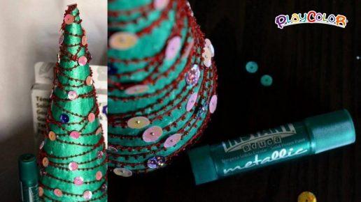 árbol de navidad metsalizado