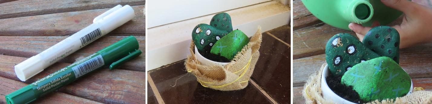 manualidades con piedras de río