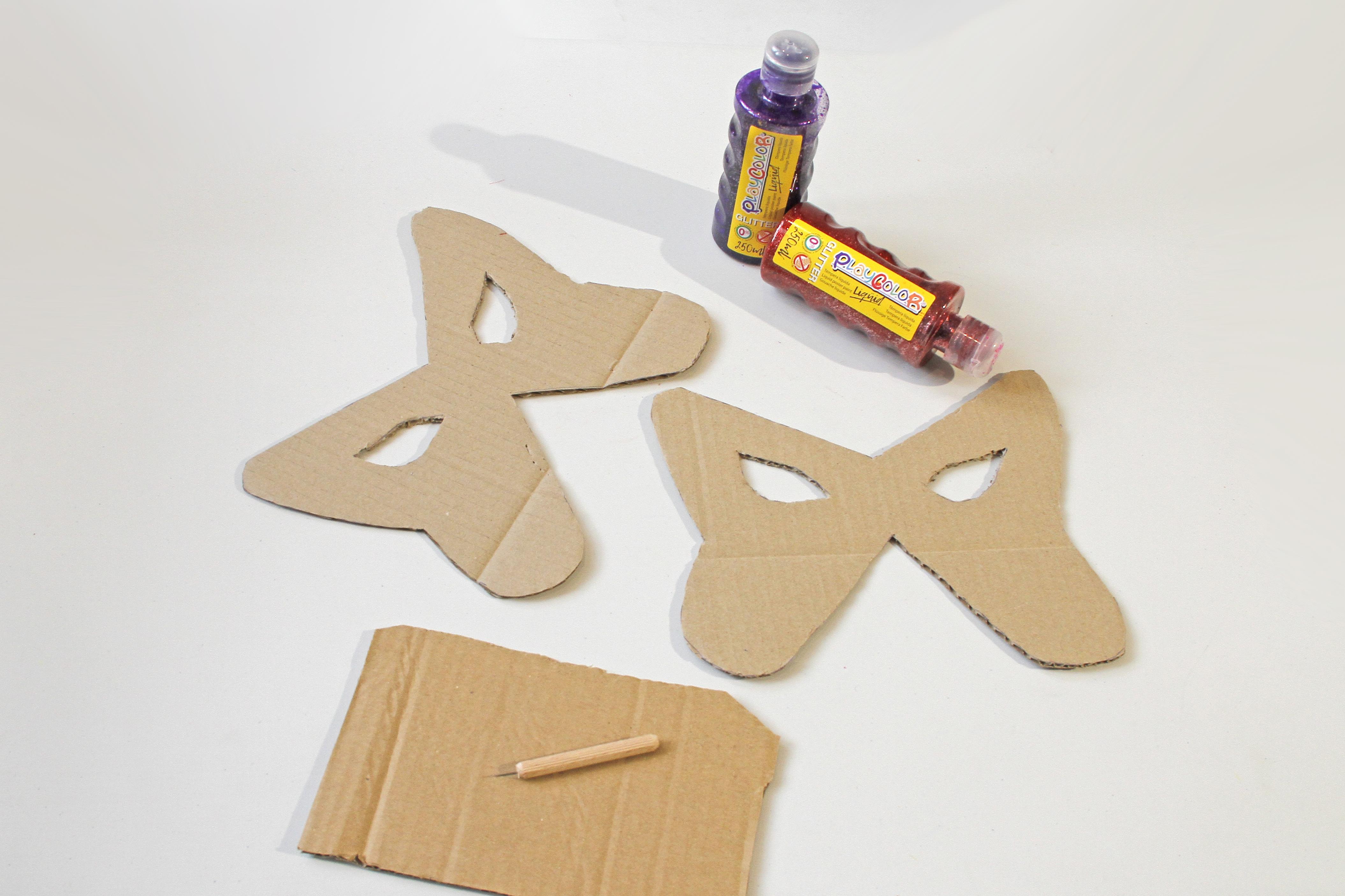 glitter handcraft