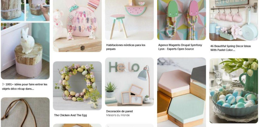 ideas tonos pastel