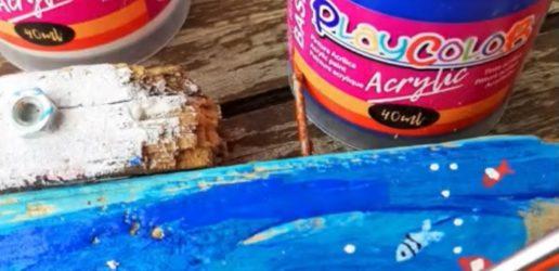 pintar-troncos-de-madera